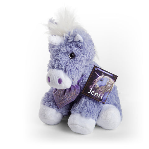 JONTI ~ Tijon's Plush Purple Unicorn