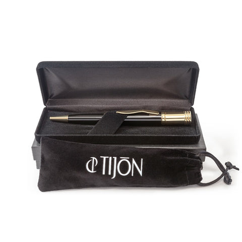 Tijon Fragrance Atomizer Writing Pen, Gold