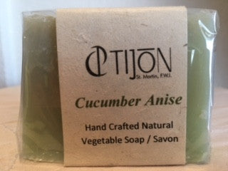 Handcrafted Soap ~ Cucumber Anise