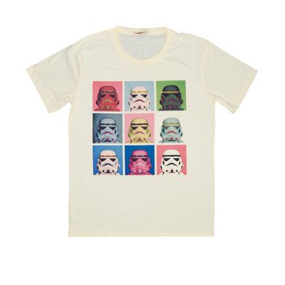 T-shirt Stormtrooper Pop Art Tops tees outfits Unisex Round neck - craft-more-store
