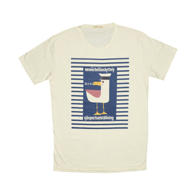 T-shirt Marine Seagull Tops tees outfits Unisex Round neck - craft-more-store