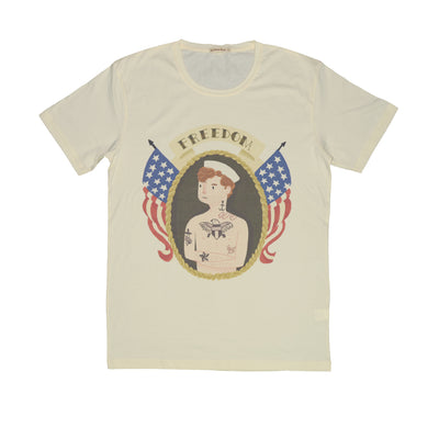 T-shirt Freedom Mariner Tops tees outfits Unisex Round neck