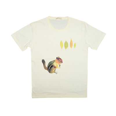 T-shirt Squirrel Tops tees outfits Unisex Round neck