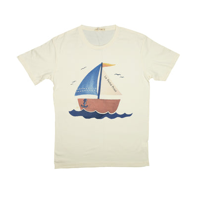 T-shirt Sailboat Tops tees outfits Unisex Round neck