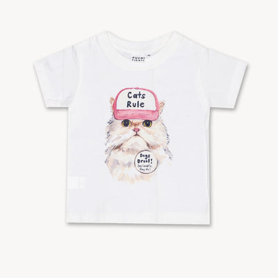T-shirt Cat Rule Tops tees outfits Unisex Round neck