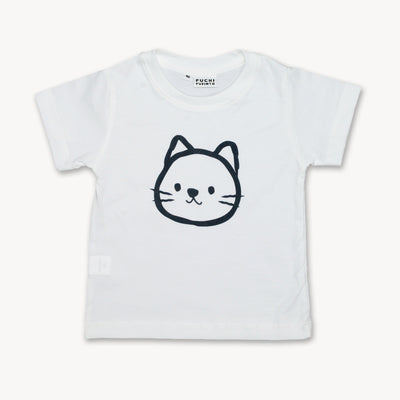 T-shirt Cat Black Edition Tops tees outfits Unisex Round neck