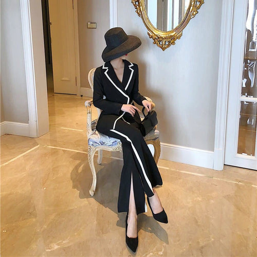 Lady Louisa Suit Black