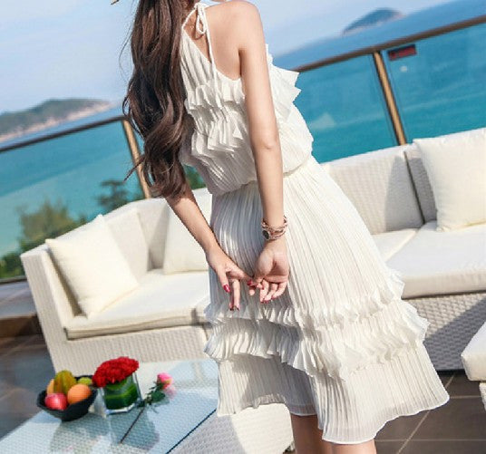 Crete Chiffon Dress