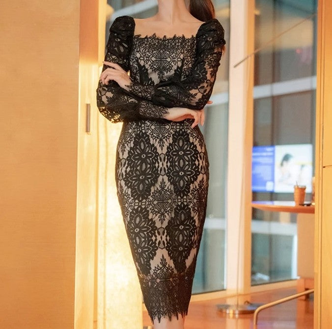 Horizon Italian Lace Dress