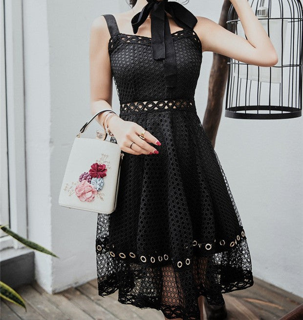 Suzy Lace Dress Black