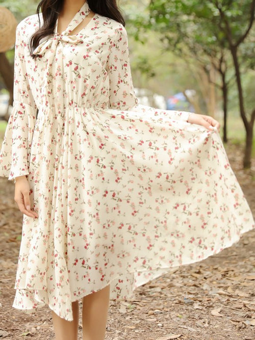 Laura Dress Beige