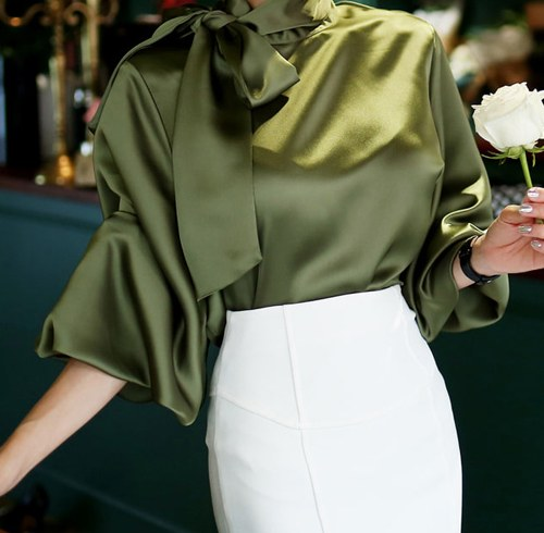 May Queen Silk Blouse