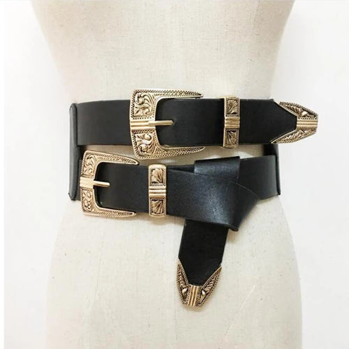 Milano Double Buckle Belt