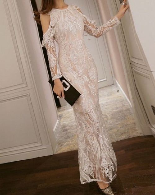 Reina Embroidered Dress