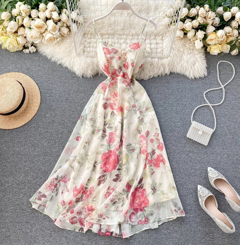 Paulina's Garden Chiffon Dress