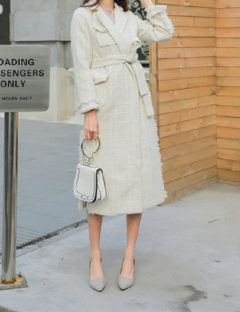 Lana Tweed Coat