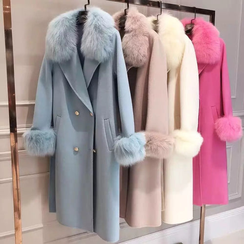 Juliana Cashmere Coat