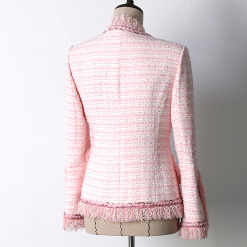 Zora Italian Tweed Jacket