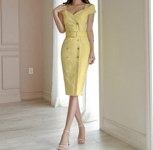 Serenity Dress Yellow