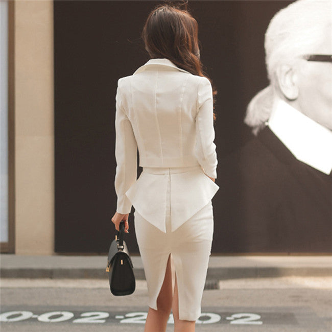 Stefania Suit White