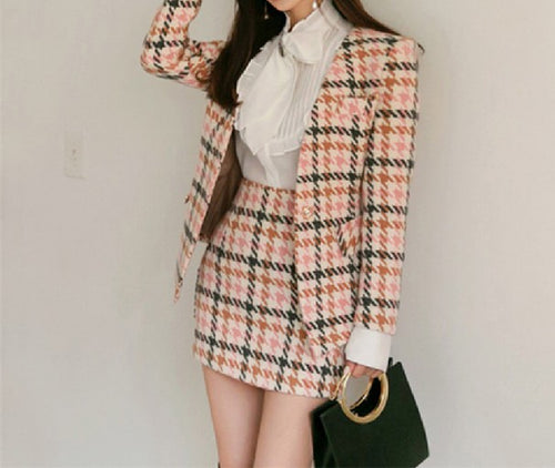 Mika Tweed Set