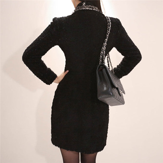 Sabrina Tweed Coat Dress