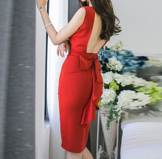 Ely Backless Dress