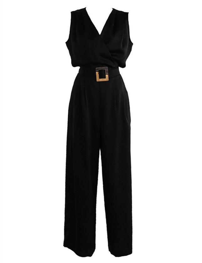 Dubai Wide Leg Jumpsuit