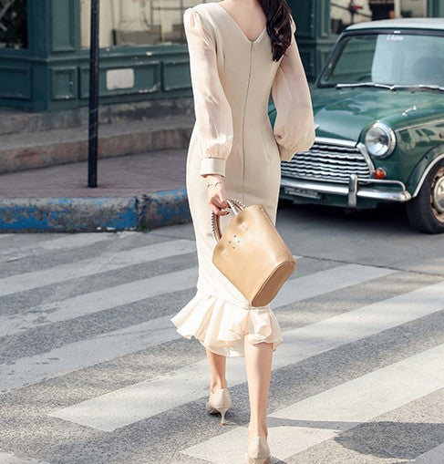 Havana Chiffon Dress