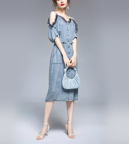 Borelli Denim Dress