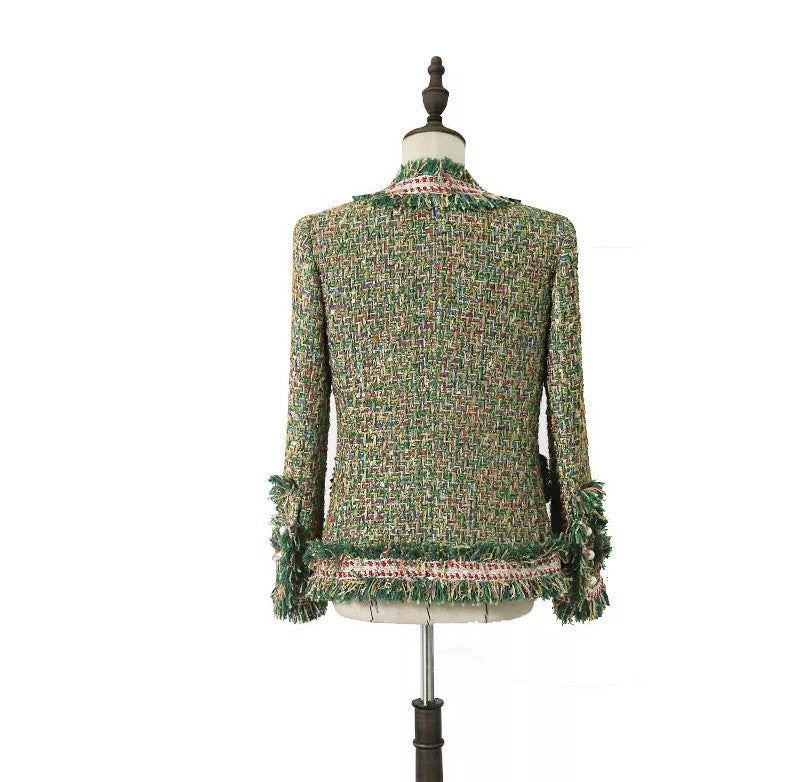 Evangeline Italian Tweed Jacket