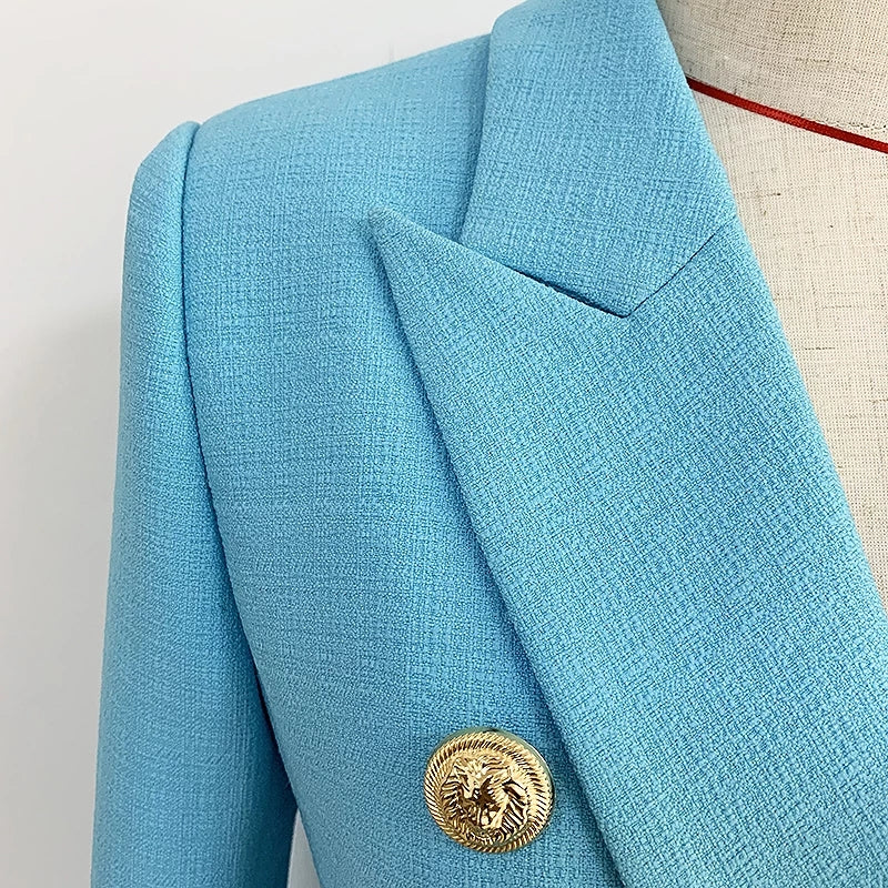 Muse Royal Italian Blazer Cyan