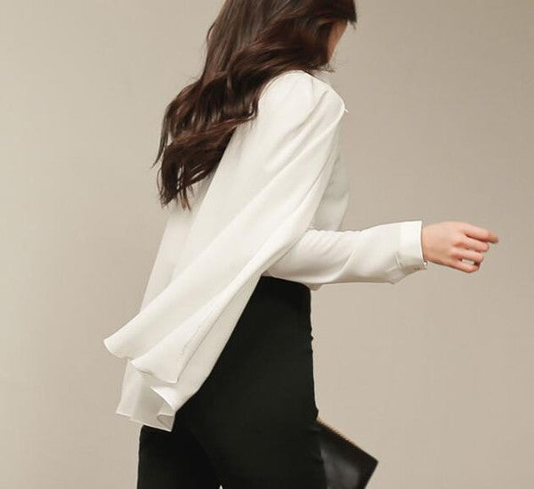 Superwoman Chiffon Blouse