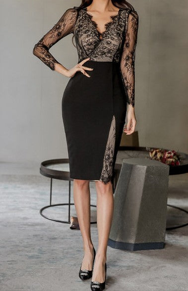 Stefania Lace Dress