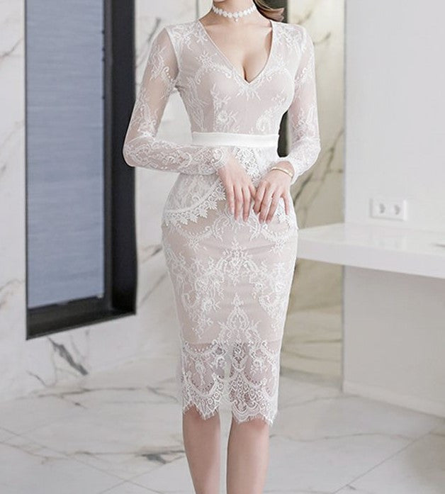Angelica Lace Dress