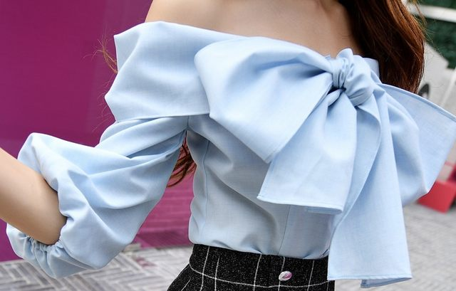 Toscana Bow Blouse