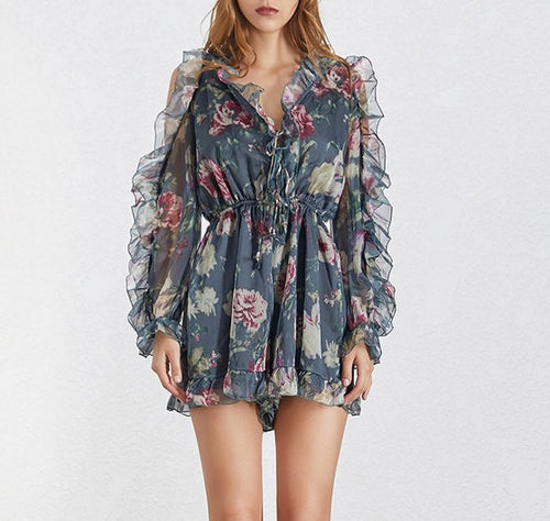 Evelyn Chiffon Playsuit