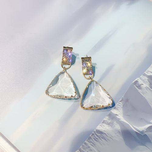 Trinity Crystal Earrings