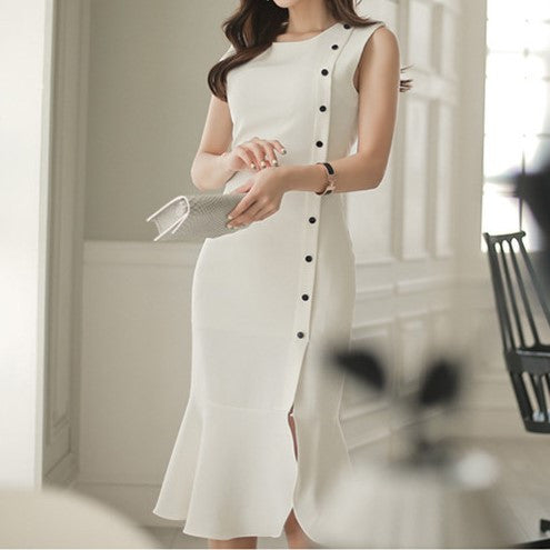 UK Chic Dress White
