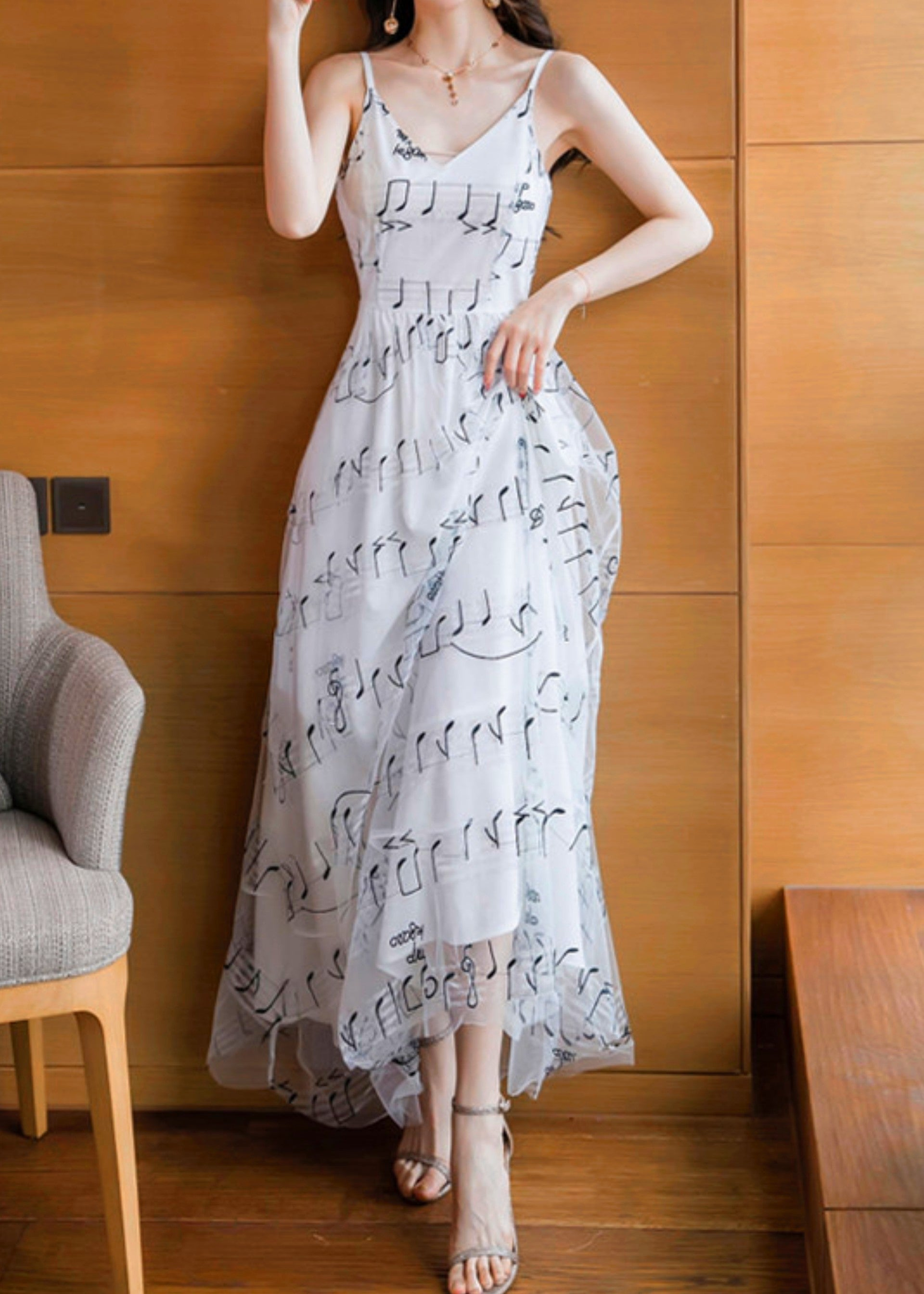Love Note Gauze Dress