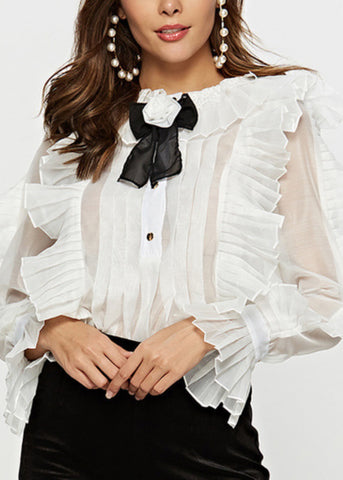 Krisa Lace Blouse