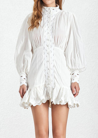 Orna Dress White