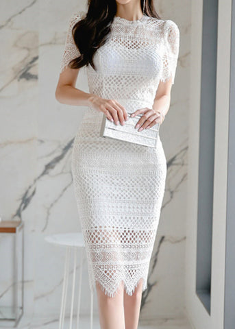 Grace Valley French Lace Dress