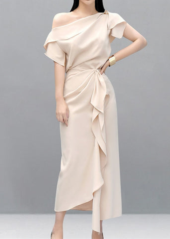 Miracle Satin Dress