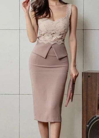 Orchid Chiffon Dress