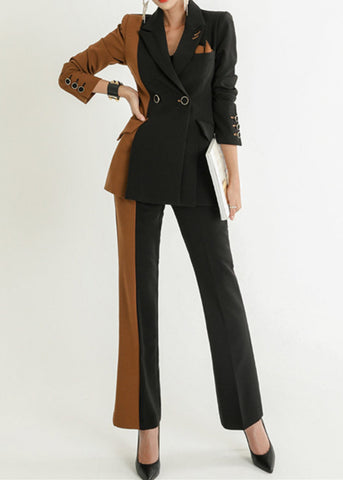 Jessie 3 Piece Suit Black