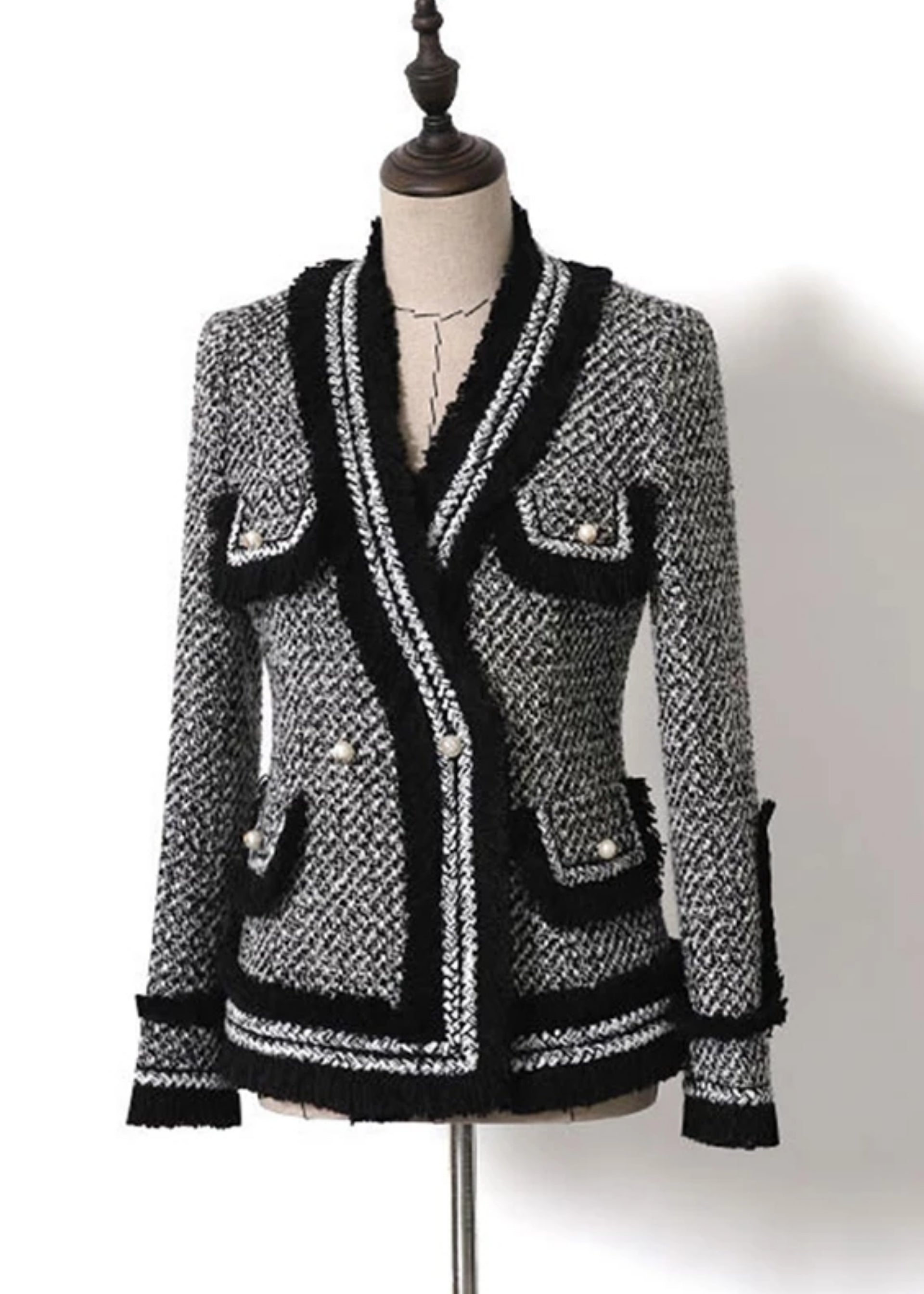 Safiya Italian Tweed Jacket