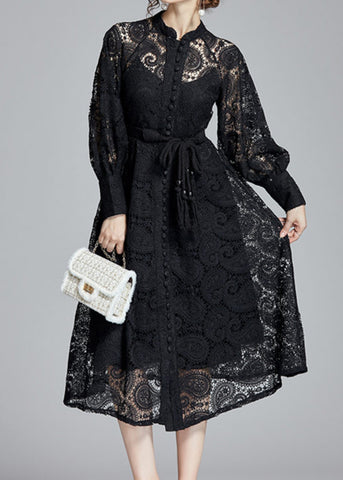 Tina Lace Trench Coat