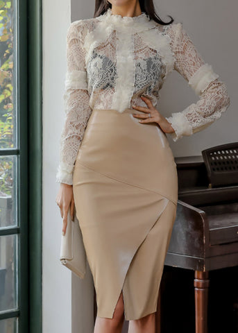 Beauty Dress Beige