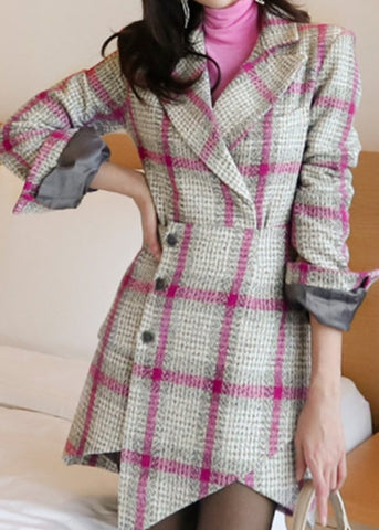 Chloe Italian Tweed Coat
